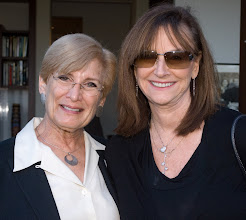 Photo: AJC|LA Associate Director Saundra Mandel and Cookie Shapiro. © Tom Neerken Photography