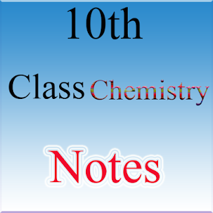 10th Class Chemistry Notes - náhled