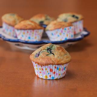 Quinoa Blueberry Lemon Muffins {Gluten Free}