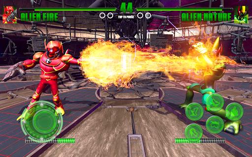 Hero Alien Force Arena Attack Mega Transform War 9.0 screenshots 7
