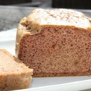 Almond Butter Bread.