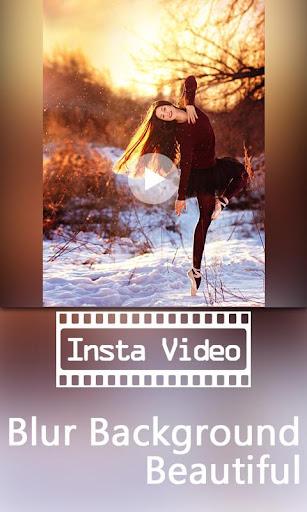 InVideo square video blur