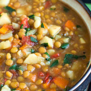 Lentil Vegetable Soup.