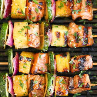 Asian Salmon Kabobs