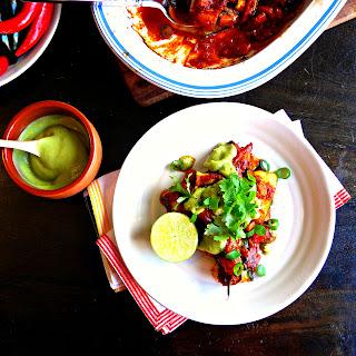 Plant-based Mexican Enchiladas