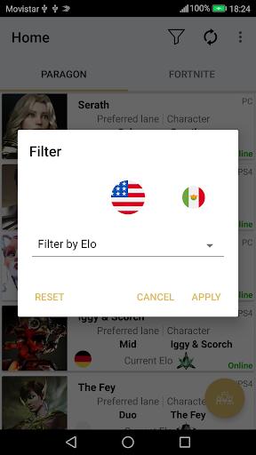 Epic Social (Paragon - Fortnite) 2.6 screenshots 2