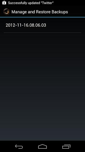 ROM Manager screenshot 7