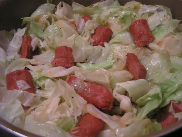 Smoked Sausage And Cabbage (or Sauerkraut)