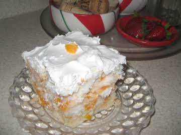 Peachy Chiffon Dessert