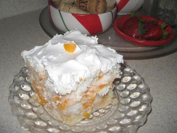Peachy Chiffon Dessert Recipe