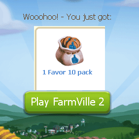 Farmville 2 free favor