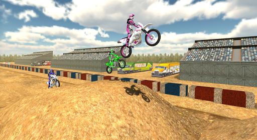 Motorbike Cross Racing Online
