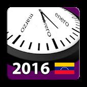 Calendario 2016 Venezuela
