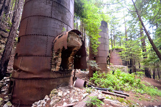 Photo: 176. The park gets its name from these large wood-fired kilns that were once used (in the late 1800s) to smelt quarried limestone into powdered lime, used to mix cement. The trail to reach these kilns is short - a little over a half mile - and it follows a gorgeous stream.