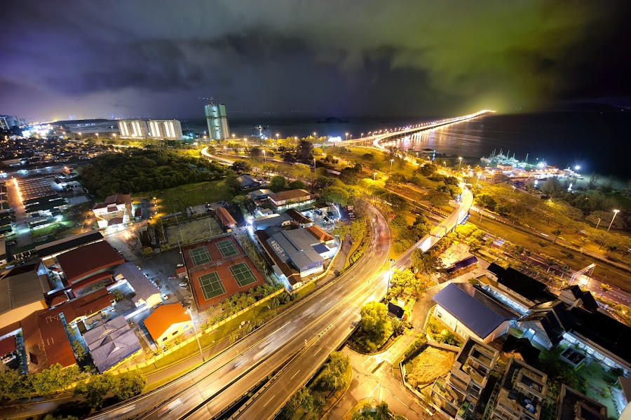 Veins of Penang by Danny Xeero - City,  Street & Park  Vistas