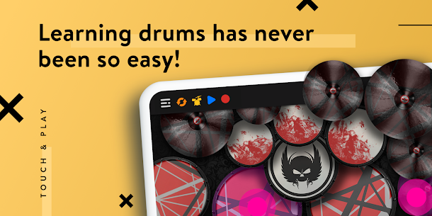 REAL DRUM: Electronic Drum Set Mod Apk [Premium Features Unlocked] 4