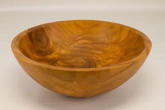 "Photo: Tim Aley 9"" x 3""  bowl [cherry]"