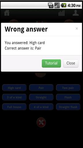 Poker Hands Trainer 3.0.4 screenshots 5