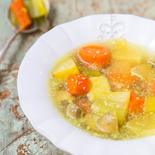 Immune-Boosting Vegetable Soup and Broth.