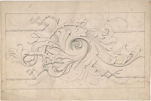 Designs for borders and corners, acanthus
