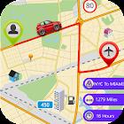 Live Route Distance Tracker icon