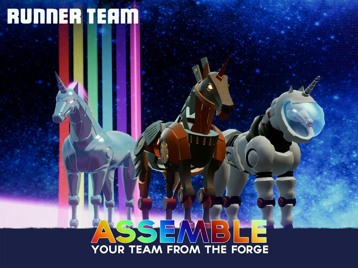 Robot Unicorn Attack 3: screenshot