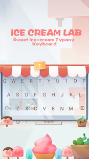 Ice Cream Lab Theme - náhled