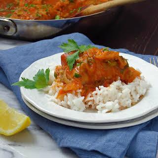 Spicy Caribbean Mahi Mahi.