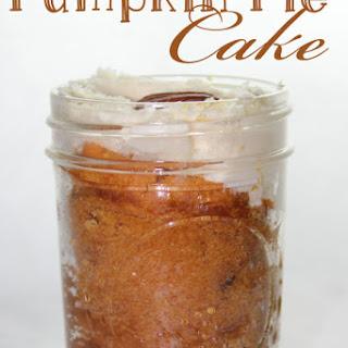 Pumpkin Pie Mason Jar Cake