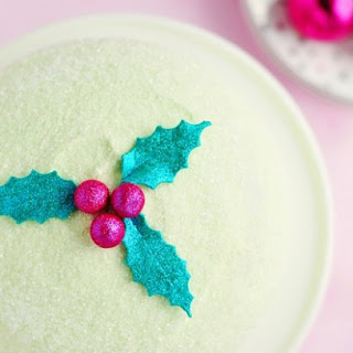 Winter Delight Peppermint Cake