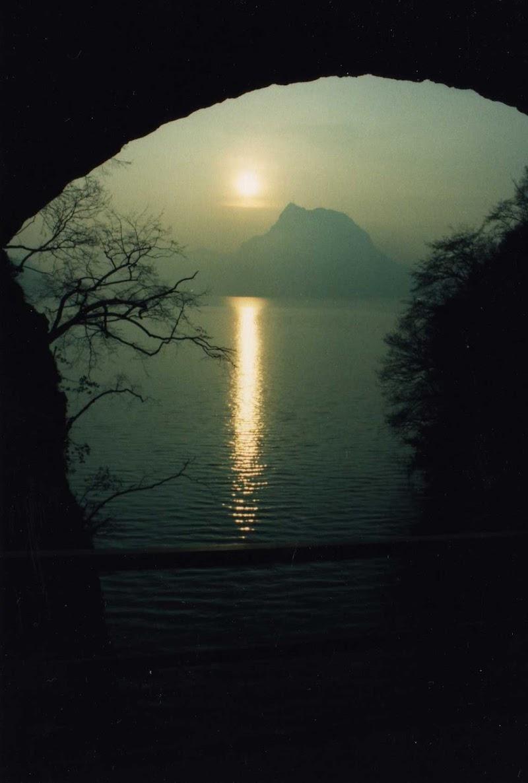 Pace in un tramonto invernale di Roberto Pasquale