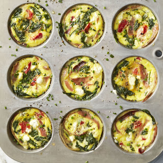 Spinach and Prosciutto Frittata Muffins Recipe
