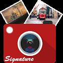 Auto Signature Stamp on Photo icon