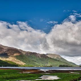 Ballachulish, Glencoe by Mark Denham - Landscapes Travel ( scotland, mountains, glencoe, sky, ballachulish, loch )