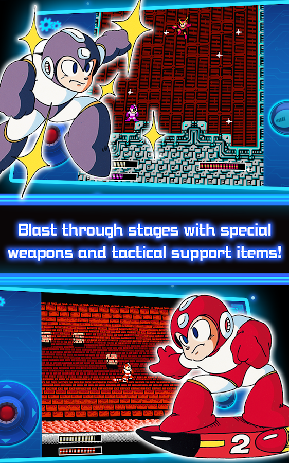 MEGA MAN 2 MOBILE- screenshot