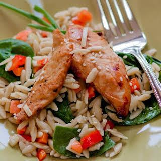 Asian Chicken Pasta Salad.