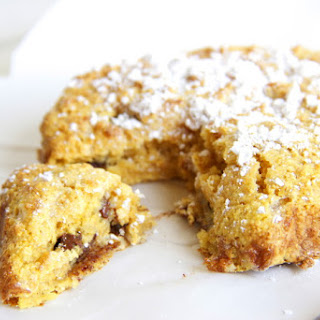 Healthy Chocolate Chip Coffee Cake.