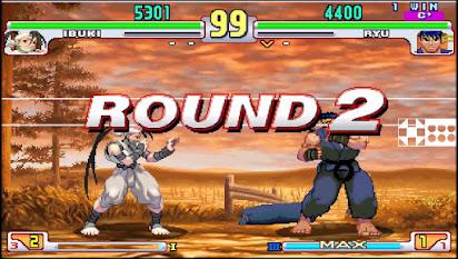 Street Fighter Round 2 Fight