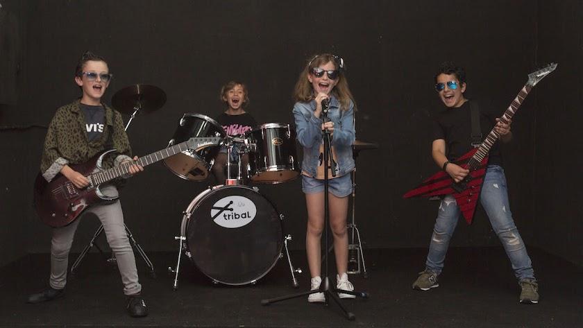 Escuela de Verano para jóvenes estrellas del rock en la EMMA.