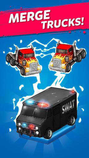 Merge Truck: Grand Truck Evolution Merger game apkmr screenshots 5