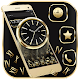 Download Golden Analog Clock Gravity Theme For PC Windows and Mac
