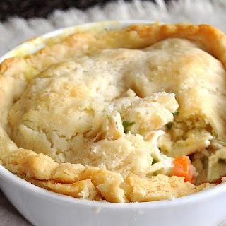 Chicken Pot (Pock) Pie.