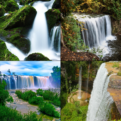 Waterfall World Wallpaper