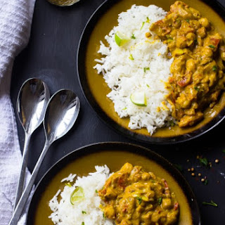 Coconut Chickpea Curry (V & GF)