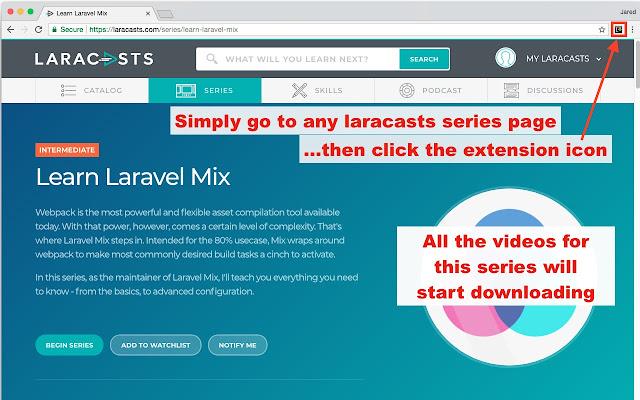 Laracasts Downloader