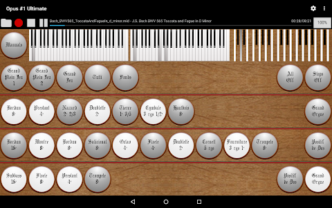 Opus #1 Ultimate-Organ Console screenshot 4