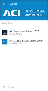 Events @ ACI - náhled