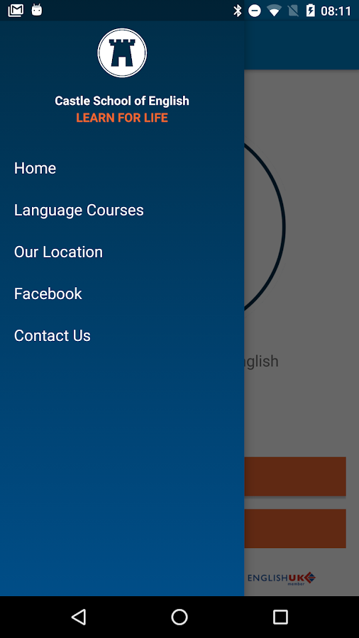 Castle School of English- screenshot