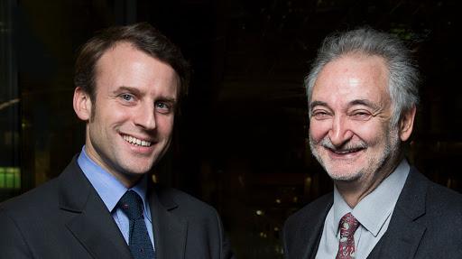 Emmanuel MACRON et Jacques ATTALI