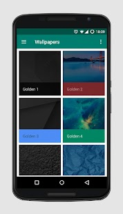 Golden Icons - Icon Pack- screenshot thumbnail